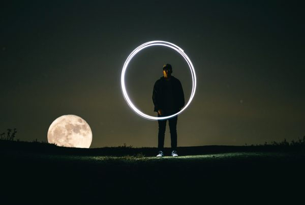 Harnessing Power: A Full Moon and a New Year